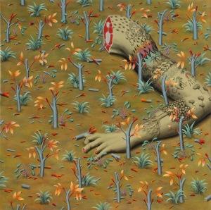 Sin título / Untitled Acrílico sobre tela / acrylic on canvas 145 x 145 cm. - 2012 San Poggio | http://cargocollective.com/